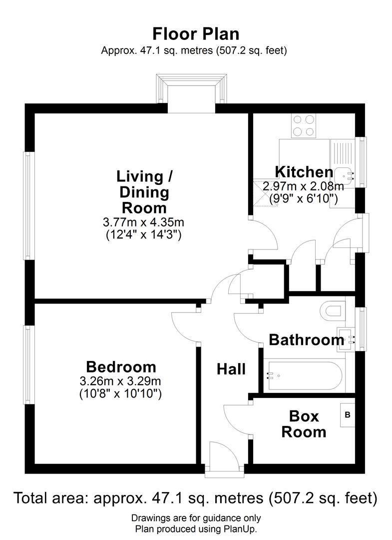 Floor plan Rachel Close, Cambridge